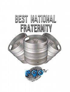 best national fraternity