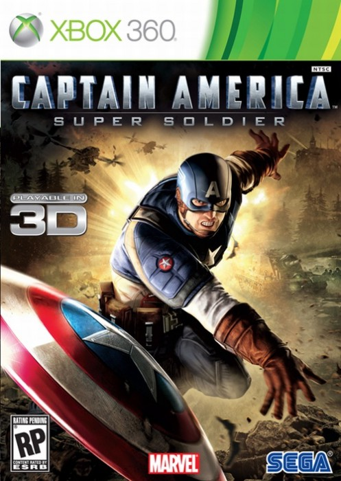 captain america super soldier xbox