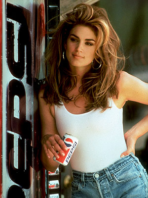 """Cindy Crawford Pepsi Commercial"""