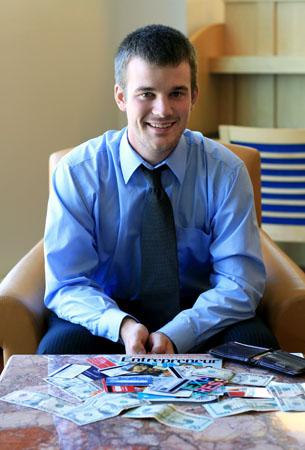 Daniel Pearson Meet the candidates: Campus Socialite's 'Campus Tycoon' Award