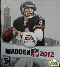 Favre on Madden 2012 Cover Bears