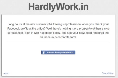 HardlyWork.in