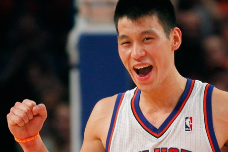 Jeremy Lin happy