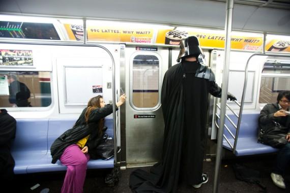 nyc subway crazy