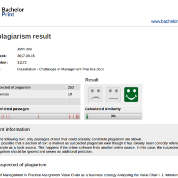 Report-plagiarism-checker