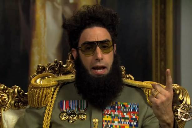 Sacha Baron Cohen's Dictator