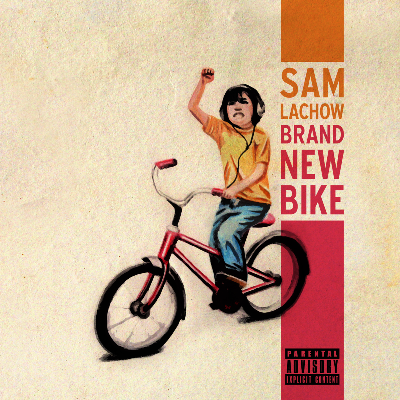 Sam Lachow Brand New Bike Album Cover