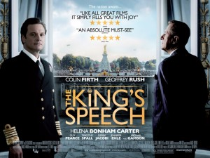 king's speech Oscar nominee
