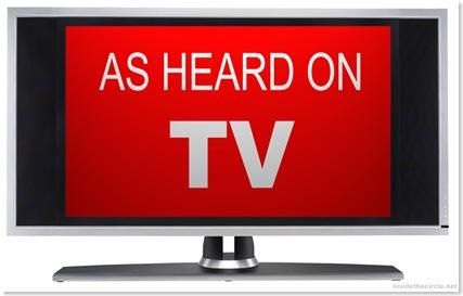 heard on tv