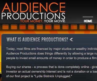 audience productions movies