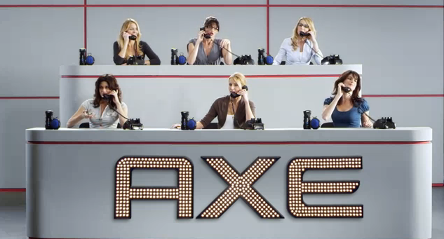 Axe Clean Your Balls Campaign