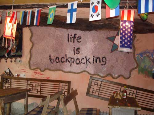 Backpackers hostel
