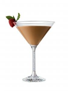 Baileys holiday martini