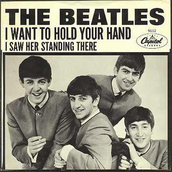 beatles I want to hold your hand