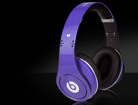 beats by dre purple