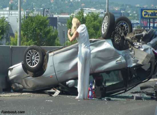girl car accident