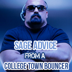 college town bouncer