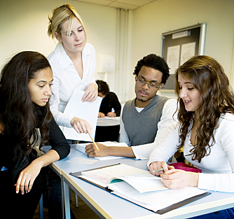 classroom 3students
