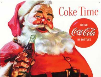 Coca Cola Santa