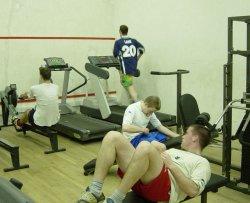 College gym
