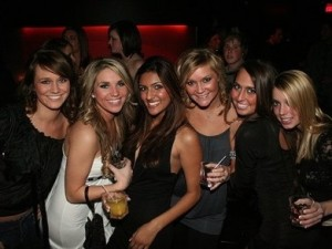 hot girls at college party