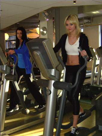 hot girls elliptical