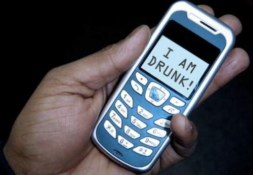 drunk-dialing