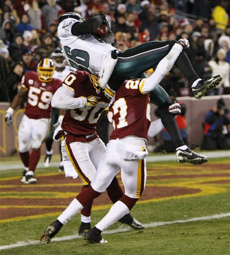 eagles redskins