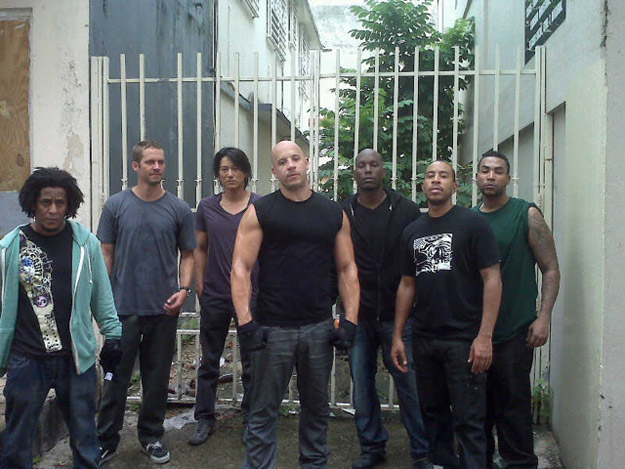The cast of Fast Five