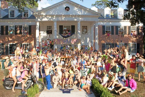 giant frat party
