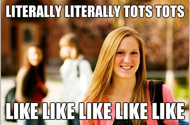 college freshwoman