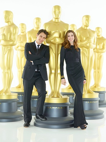 james franco and anne hathaway oscars
