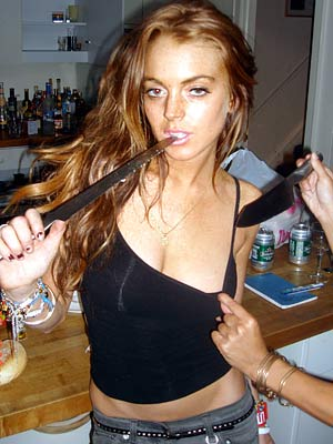 You may not know this but I went to High School with Lindsay Lohan.