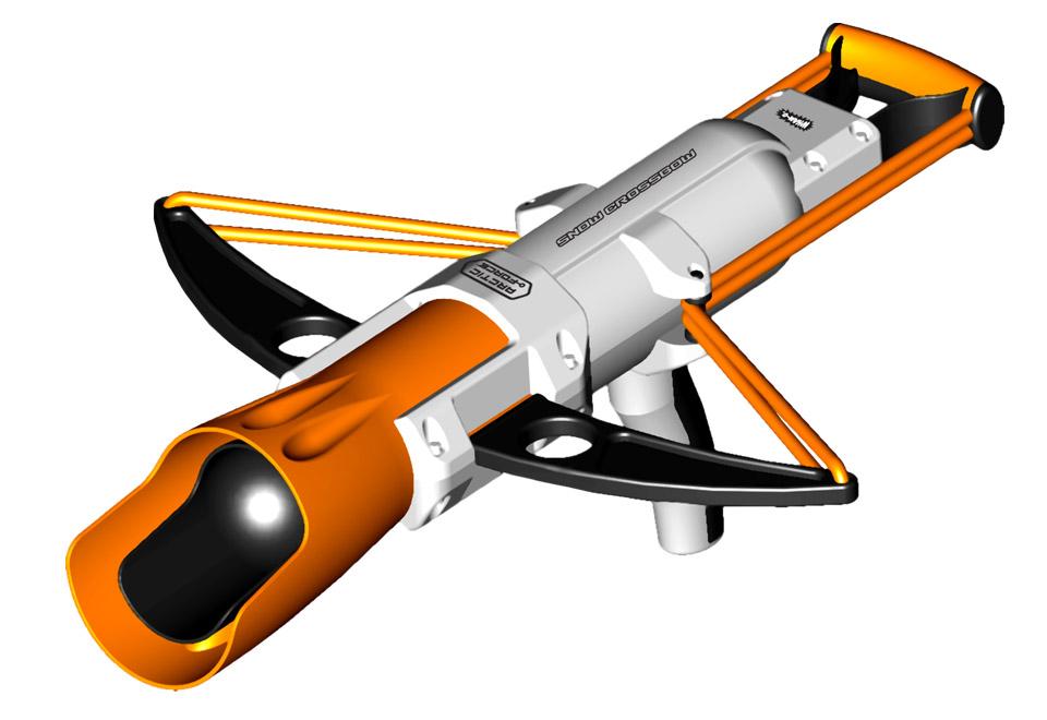 Crossbow-Snow-Launcher