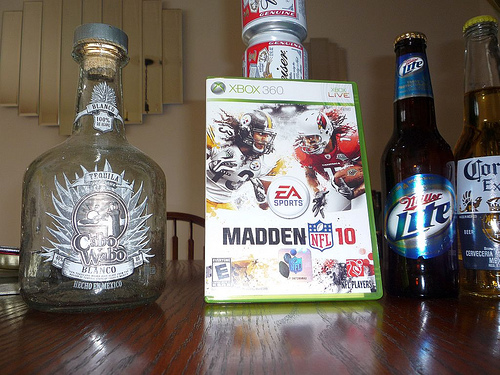 madden drinking