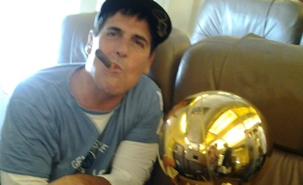 mark cuban trophy