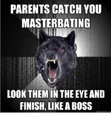 masturbating like a boss