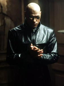 lawrence fishburne as morpheus