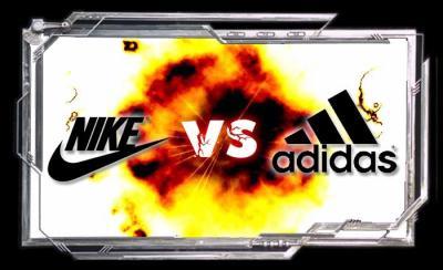 nike vs adidas sneaker battle