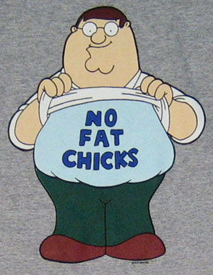 no fat chics
