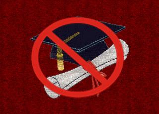 no graduation