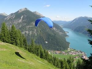 Paragliding in Austria