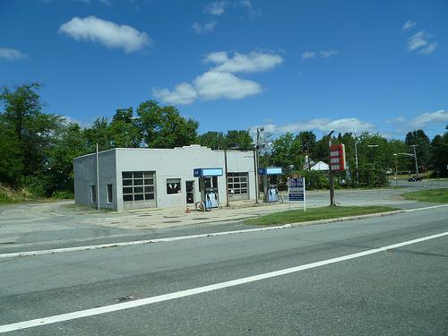 phantom gas station