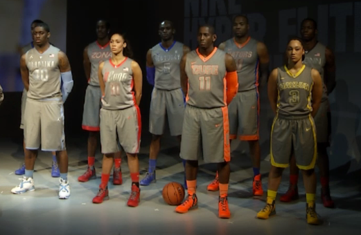 nike platinum uniforms