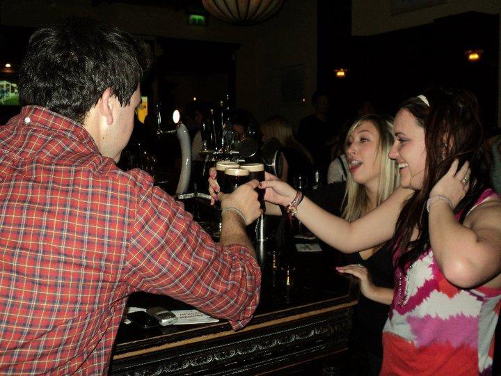 Taking shots in Dublin