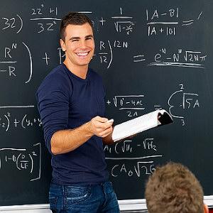 Sexy male teacher
