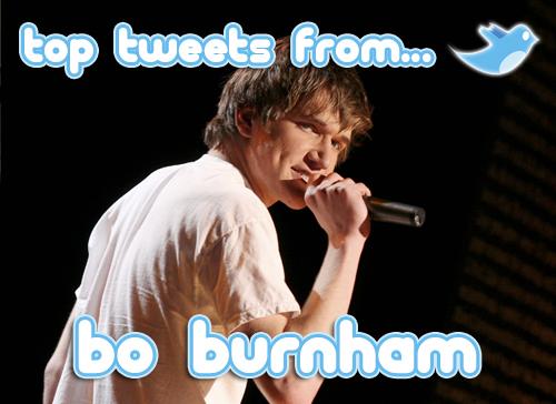 bo burnham top tweets