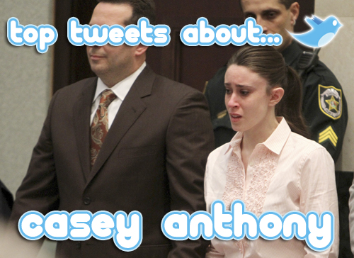 casey anthony top tweets