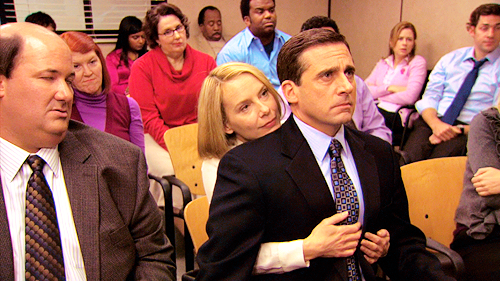 michael scott and holly on the office