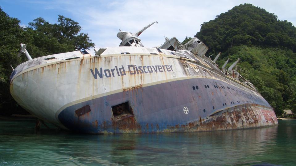Google Maps Finds Sunken Cruise ShipSweet Campus Socialite - Sunken cruise ships